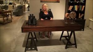 modern craftsman furniture. modern craftsman colony floating drawer desk by stanley furniture home gallery stores youtube r