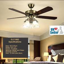 52 ceiling fan with light 3