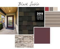 Shingle Color Chart Shingle Color Pairings