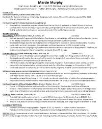 Marketing Resume Template Enchanting Marketing Resume Examples Httpresumesdesignmarketing