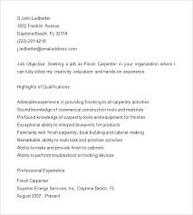 Construction Worker Cover Letter Examples Carpentry Cover Letter Sample Carpenter Resume Carpenter Cover