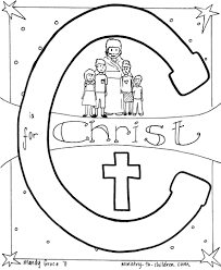 C c is for christ\