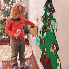 <b>Kids DIY Felt Christmas</b> Tree - 50% OFF TODAY | Diy arbre de noël ...