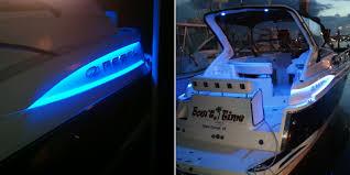 exterior led lighting car. se-wfls waterproof led strip in blue accenting a customer\u0027s boat. thanks terry c exterior led lighting car f
