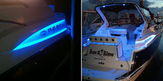 se wfls waterproof led strip in blue accenting a customer s boat thanks terry c se wfls waterproof led strip in blue accenting a customer s boat