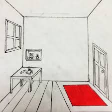 Lovely The Helpful Art Teacher: Draw A Surrealistic Room In One Point Perspective