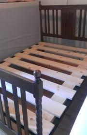 Bed Frame ~ Wooden Slat Bed Frame Black Frames Lovely King Size Bed ...