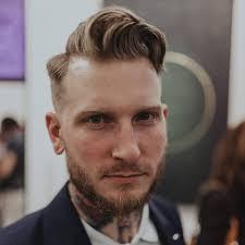 barberbirdman messy slick guys hairstyles