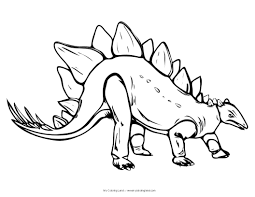 Dinosaur Coloring Pages With Color A Also Free Disney Kids Image