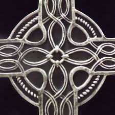 large celtic cross wall hanging gothic black pagan plaque renaissance meval ornate irish knot spiritual gift