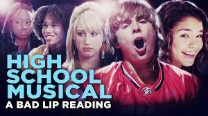 HIGH SCHOOL MUSICAL: A BAD LIP READING\