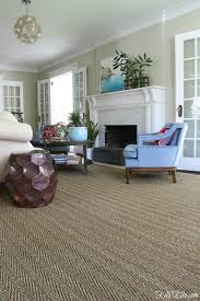 fibreworks custom color bound seagrass rug natural love the three sets of french doors in this beautiful living room and the neutral seagrass