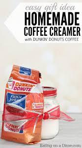 homemade powdered coffee creamer as a gift idea