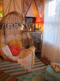 rattan hanging chair ikea for bedroom white throw round red green pattern cushions switch egg basket