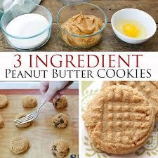 peanut butter cookies. Plain Butter Peanut Butter Cookies In