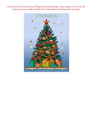 Epub Simple Christmas Designs Easy Designs To Color For