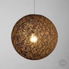 pendant lighting shade. modern large 40cm coffee rattan wicker ball ceiling light pendant shade lamp lighting