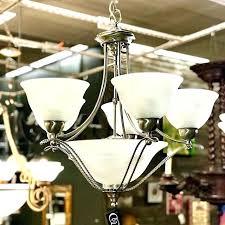 progress lighting alexa foyer pendant chandelier antique bronze