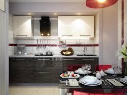 decor kitchen kitchen: kitchen stunning red white black modern kitchen dining decor style olpos design picture of at