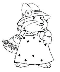 Max And Ruby Coloring Pages Online Max And Ruby Coloring Max And