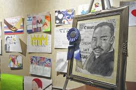 richmond county daily journal mlk posters and essays on display  mlk posters and essays on display at leath memorial library