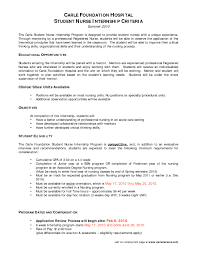 Resume For Nursing Student Fantastic Example Of Resume Nursing Student In Entry Level 15