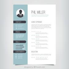 Cv Resume Word Template On Desk Best Free Creative Resume Template