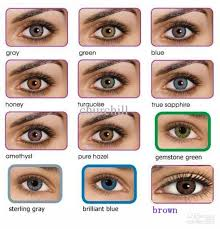 Bausch And Lomb Contact Lenses Color Chart 42 Unfolded Bausch Lomb Contact Lenses Colour Chart