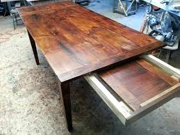farmhouse table with leaves. Farmhouse Table With Leaves New Master Craftsman Of Yrs Experience Builds Many .