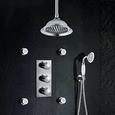thermostatic shower system thermostatic shower system with concealed mixer grohe euphoria thermostatic shower system with tub