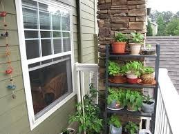 modern patio herb garden club type balcony idea design container kit planter plan diy