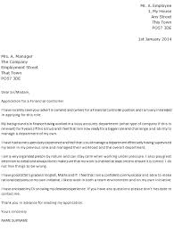 cv financial controller financial controller cover letter example icover org uk