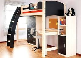 bed with office underneath. Bunk Bed Office Underneath Desk Full Size Loft With Pattern . A