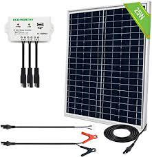 ECO-WORTHY 25 Watts 12V Off Grid Solar Panel ... - Amazon.com