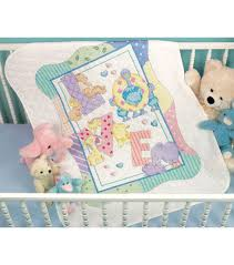 Dimensions Baby Hugs Zoo Alphabet Quilt Stamped X-Stitch Kit-34 ... & Dimensions Baby Hugs Quilt Stamped Cross Stitch Kit Zoo Alphabet Adamdwight.com
