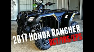2018 honda rancher 420. plain rancher 2017 honda rancher 420 dct  irs eps 4x4 atv trx420fa6h walkaround  video  black on 2018 honda rancher