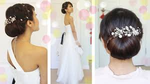 Wedding Hair Style Up Do get ready with me wedding edition classic bridal updo youtube 6208 by wearticles.com