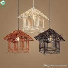 inexpensive pendant lighting. Go Ocean Contemporary Led Pendant Lights Hanging Dining Room Study Foyer Indoor Light Wicker Rattan Hand Knitted Lamp Discount Lighting Inexpensive