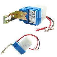 v light sensor ac dc 12v 10a auto on off photocell street light sensor switch photoswitch new