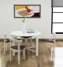 White Space Saver Dining Table  InsurserviceonlinecomSpace Saving Dining Table Sets