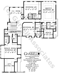 windsor oak manor house plan 04038 2nd floor plan