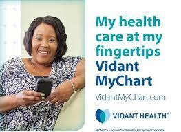 Vidant Health My Chart