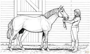 Horse Coloring Pages Printable Co Free Printable Realistic Horse
