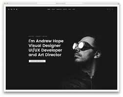 30 best vcard wordpress themes 2017 for your online resume colorlib fatmoon resume wordpress website template