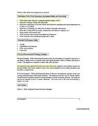 Warehouse Forklift Operator Job Description For Resume Resume Warehouse Job Description For Resume 12