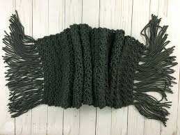 Free Mens Crochet Scarf Pattern Cool Simple Scarf For Men Free Crochet Pattern