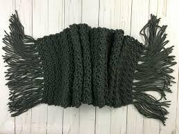 Mens Scarf Crochet Pattern Fascinating Simple Scarf For Men Free Crochet Pattern