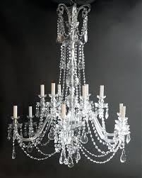 large crystal chandelier pair of large crystal chandeliers 0 this fabulous pair of large large black