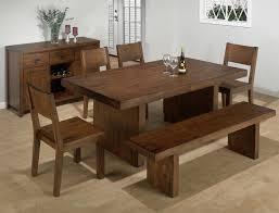 remarkable solid wood dining table sets bench kitchen set