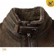 fur lined leather jacket mens